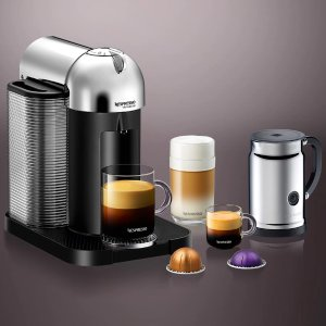 VertuoLine Chrome Bundle | Coffee Machine | Nespresso USA