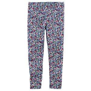 Kid Girl Floral Leggings | Carters.com
