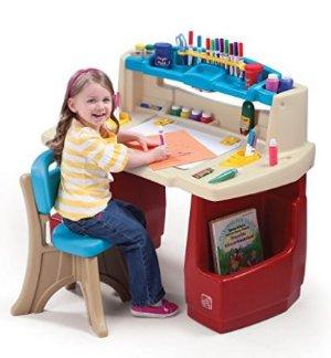 销量冠军!Step2 豪华艺术家儿童桌椅