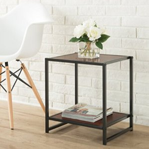 $20.25 Zinus Modern Studio Collection 15 Inch Square Side Table, End Table, Coffee Table