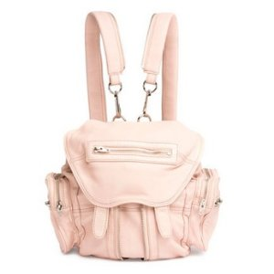 Alexander Wang Mini Marti Leather Backpack, Pale Pink