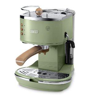 到手价¥1089618大促:DeLonghi 家用泵压式半自动咖啡机 ECOV311