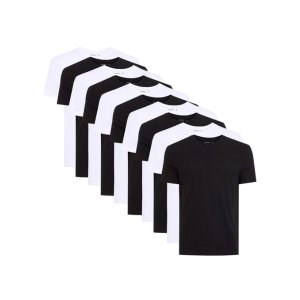 Black and White Slim T-Shirt Multipack* - Shirts - Clothing
