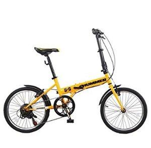 秒杀包邮到手价为¥999(原价为¥3799)HUMMER 悍马 特勤队休假道路系列 折叠休闲自行车7速