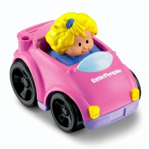 Little People Wheelies Coupe | T5627 | Fisher-Price