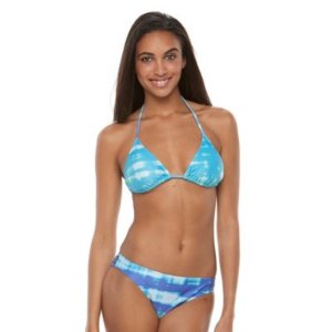 Women's Dahui Halter Triangle Bikini 2-pc. Set @ Kohl's