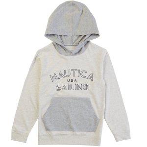 Boys' Sailing Hoodie (8-16) - Wisp White | Nautica