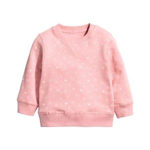 Sweatshirt | Pink/hearts | Kids | H&M US