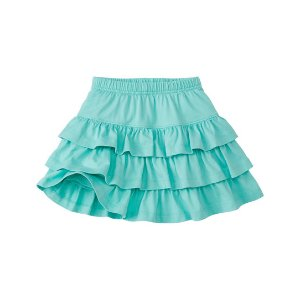 Hanna Andersson Green Glass Three Tiers Scooter Skirt | zulily