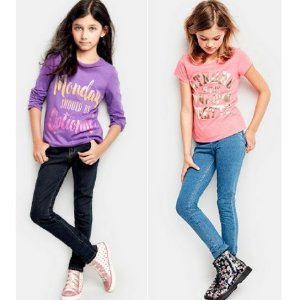 $2.99+Free ShippingShort Sleeve Graphic Tees @ Children's Place