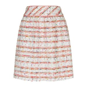 Boutique Moschino Tweed Mix Skirt