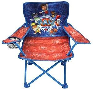 $6.41 销量冠军史低价:Paw Patrol 儿童卡通户外折叠椅