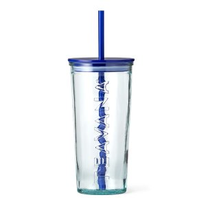 Blue Glass Cold Cup