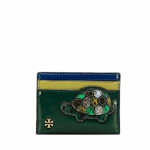 Tory Burch Turtle Burch Card Case