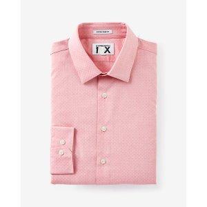 Slim Fit Easy Care Dobby 1mx Dress Shirt