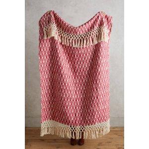 Farrah Throw Blanket | Anthropologie