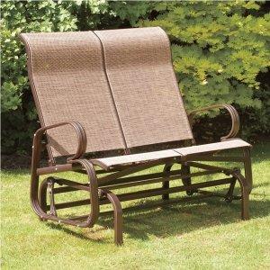 Havana Bronze Twin Seat Outdoor Glider - Free Shipping Today - Overstock.com - 16257387