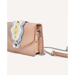 CROSSBODY BAG WITH STUDS DETAIL - View all-BAGS-WOMAN | ZARA United States