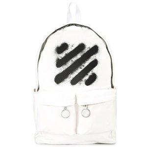 Off-White Spray Striped Backpack - Farfetch