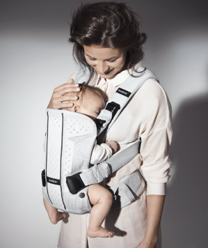 $114BABYBJORN Baby Carrier One - Silver, Mesh