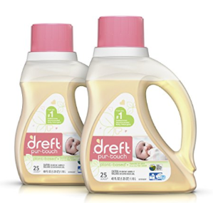 $13Dreft purtouch Baby Liquid HE Laundry Detergent, Hypoallergenic and Plant-based, 80 oz (2 pack, 40 oz each)