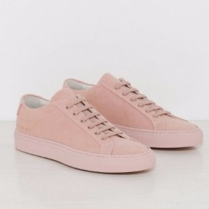 Woman by Common Projects Original Achilles Canvas in Blush