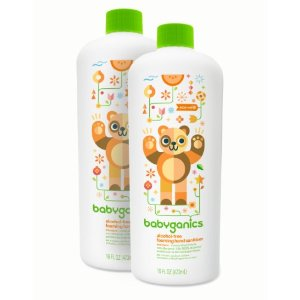Babyganics Alcohol-Free Foaming Hand Sanitizer Refill, Mandarin, 16 Fl Oz, 2 Pack | Jet.com
