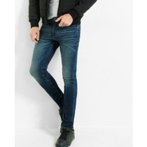 Skinny Fit Super Skinny Leg Performance Stretch Jeans   Express