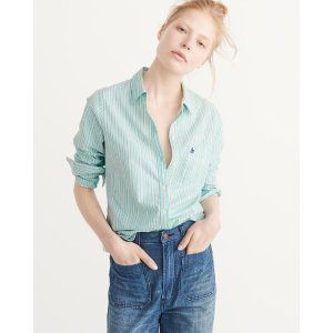 Womens Oxford Shirt | Womens Clearance | Abercrombie.com