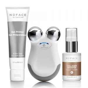 Glam On-The-Go Facial Toning Gift Set | NuFACE | b-glowing