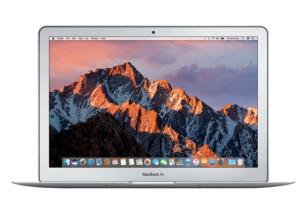 $1049.99(原价$1199.99)黒五价:MacBook Air 13 MQD32LL/A (i5 8GB 128GB) 2017新款促销