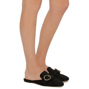 Jacquard Mules by Dolce & Gabbana   Moda Operandi