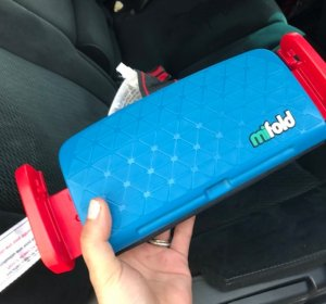 $39.99mifold Grab-and-Go Car Booster Seat