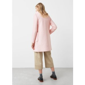 Pocketed wool coat - Women | OUTLET USA