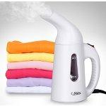 Lightning deal! [New Version] NOSIVA Portable Handheld Clothes Steamer 138ml(White)
