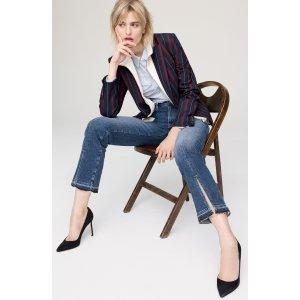 FRAME Le Nouveau Split Hem Jeans (Sheffield) (Nordstrom Exclusive)   Nordstrom