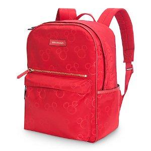 Mickey Mouse Preppy Poly Backpack by Vera Bradley - Red | Disney Store