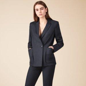 VALY Striped blazer