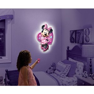 Amazon.com: Uncle Milton - Wall Friends - Minnie Mouse: Toys & Games