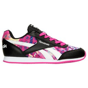 Girls' Grade School Reebok Royal Classic Leather Jogger Casual Shoes| Finish Line