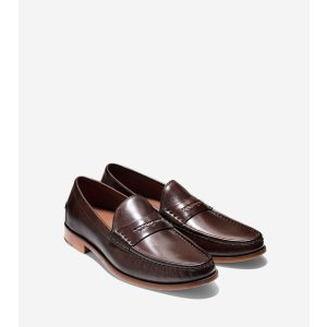 Mens Pinch Gotham Penny Loafers in Chestnut | Cole Haan
