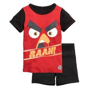 Jersey Pajamas | Red/Angry Birds | Kids | H&M US