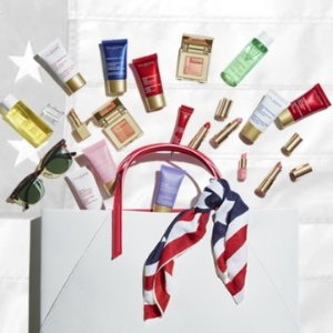 Customize 7-pc free gift (value up to $176)With any $100 order @ Clarins