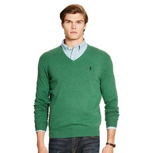 Merino Wool V-Neck Sweater - V-Neck � Sweaters - RalphLauren.com