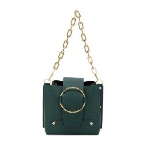 Yuzefigreen small Delila shoulder bag