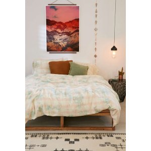 Overdyed Flannel Duvet Cover | Urban Outfitters