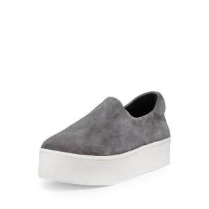 Opening Ceremony Stretch-Woven Slip-On Sneaker, Natural