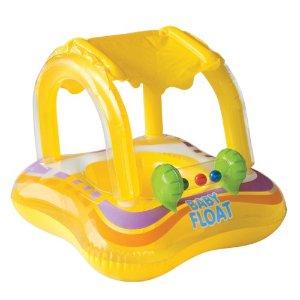 Intex Kiddie Float 32in x 26in (ages 1-2 years): Toys & Games