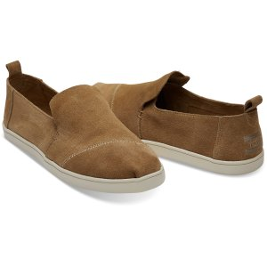 Toffee Suede Women's Deconstructed Cupsole Alpargatas   TOMS®