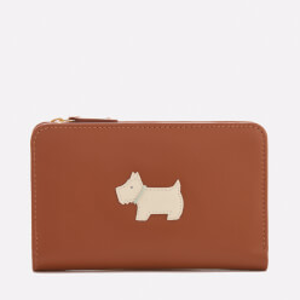 Radley Women's Heritage Dog Medium Ziptop Purse - Tan